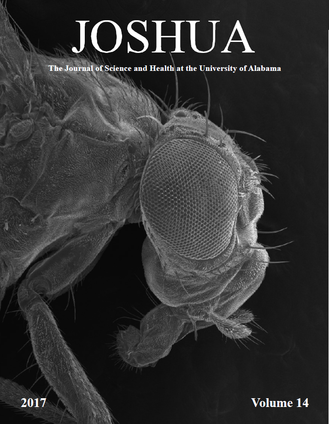 journal cover featuring a magnified insect